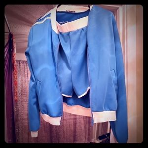 Short and jacket set